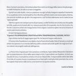 Prefazione a cura di Lucia La Sorsa Catalogo ufficiale del Premio Arte Poseidone