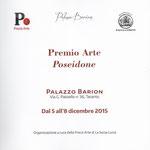pag. 1 del catalogo del Premio Arte Poseidone