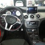 Mercedes A-Klasse nach der Innenraum Reinigung