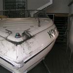 auch Boote kann man reinigen