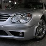 Mercedes Stoßfänger nach Heimarbeit