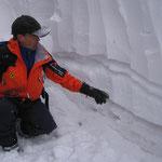 Schneeprofil