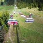 Sesselliftbergung im Alpendorf