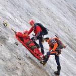 Bergetechnik am Gletscher (Bild: Wolfgang Tafatsch)