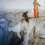 Gletschertechnik (Bild: Herbert Müllauer)