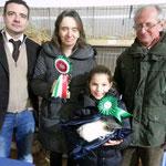 Migliore di razza Peruviana tricolore proprietario e allevatore Franco Cavagnera