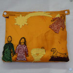 Krippenpolster , von einem Mädchen der 2. VS gemacht