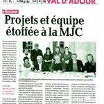 2013.11 le CA de la MJC