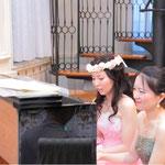 カヴァレリアルスティカーナ、カノンを連弾で演奏しました