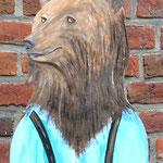 der frisch gebackene Bräutigam, Bär genannt, wird sich hoffentlich freuen