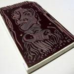 """Linoleum di Piermario Dorigatti per """"Quaderno di Orfeo"""" di Thierry Metz"""