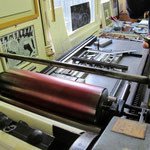 L'inchiostrazione dei rulli