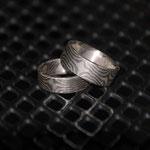 Silber-Palladium-Augenmuster und Palladiumring