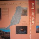 Lage der Höhle bei La Oliva