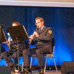 In der Uniform des Bundespolizeiorchesters München