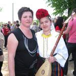 Stefani sa majkom