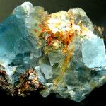 Fluorit (Kantenlänge 1cm), Panixerpass