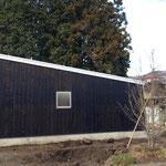 平屋建ての家 道路側外観