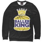 Свитшот NBA Голден Стэйт Уорриорз черный номер 40