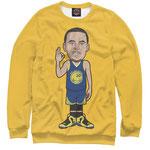Свитшот NBA Голден Стэйт Уорриорз  номер 49