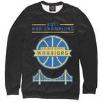Свитшот NBA Голден Стэйт Уорриорз черный номер 28