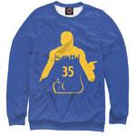 Свитшот NBA Голден Стэйт Уорриорз  номер 57