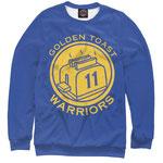 Свитшот NBA Голден Стэйт Уорриорз  номер 61