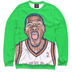 Свитшот NBA Голден Стэйт Уорриорз зеленый номер 47
