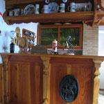 Die Bar in der Böllerstube
