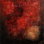 2010 Ohne Titel Acryl-Strukturpaste - Sand - Granulat auf Leinwand 100x100 cm
