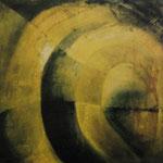 2000 Ohne Titel Acryl auf Leinwand 120x120 cm