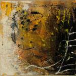 2015 Ohne Titel Acryl-Strukturpaste auf Leinwand 50x50 cm