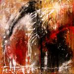 2013 Ohne Titel Acryl auf Leinwand 80x80 cm