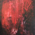 2006 Brodeln Acryl auf Leinwand 120x100 cm