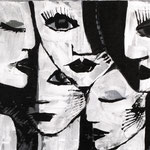 1999 Ohne Titel Acryl auf Leinwand 60x80 cm
