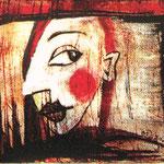 2007 Ohne Titel Acryl auf Leinwand 13x18 cm