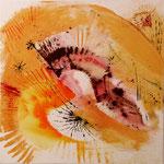 2005 Sonnenserie (3) Acryl auf Leinwand 80x80 cm