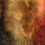 2012 Ohne Titel Acryl-Strukturpaste-Beize auf Leinwand 120x100 cm