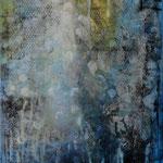 2019 Ohne Titel Acryl-Struktur-Paste auf Leinwand 100x70 cm.