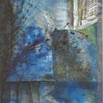2006 Ohne Titel Acryl auf Leinwand 100x80 cm