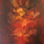 2005 Ohne Titel Acryl auf Leinwand 110x90 cm