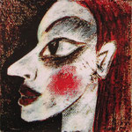 2007 Ohne Titel Acryl auf Leinwand 10x10 cm