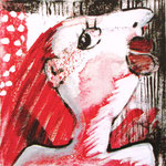 2007 Ohne Titel Acryl auf Leinwand 20x20 cm