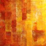 2010 Ohne Titel Acryl-Strukturpaste auf Leinwand 100x100 cm