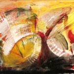 2000 Ohne Titel Acryl auf Leinwand 80x100 cm