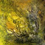2016 Ohne Titel Acryl-Strukturpaste auf Leinwand 60x60 cm