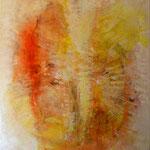 2015 Ohne Titel Acryl-Strukturpaste auf Leinwand 120x100 cm