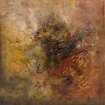 2008 Ohne Titel Acryl auf Leinwand 80x80 cm