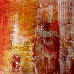 2010 Ohne Titel Acryl auf Leinwand 80x80 cm
