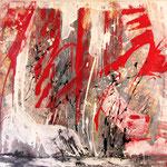 2008 Ohne Titel Acryl auf Leinwand 100x120 cm
